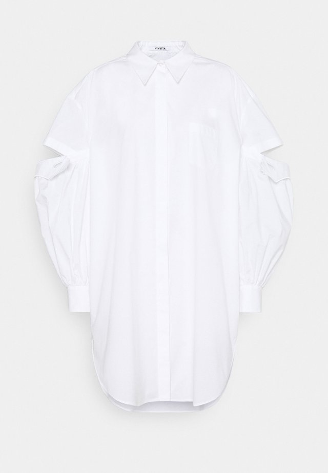Overhemdblouse - bianco ottico