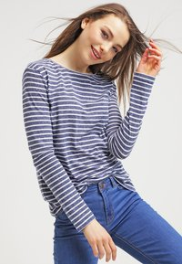 Samsøe Samsøe - NOBEL STRIPE - Long sleeved top - white/blue - 3