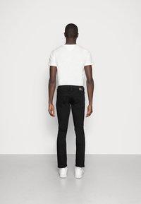 TOM TAILOR DENIM - SUPER PIERS  - Slim fit jeans - black denim - 3
