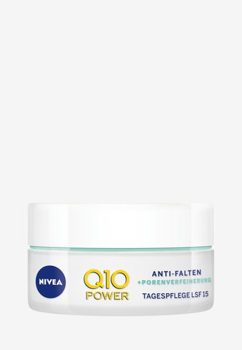 Q10 POWER ANTI WRINKLE PORE REFINE DAY CREAM SPF 15 - Anti-Aging - -