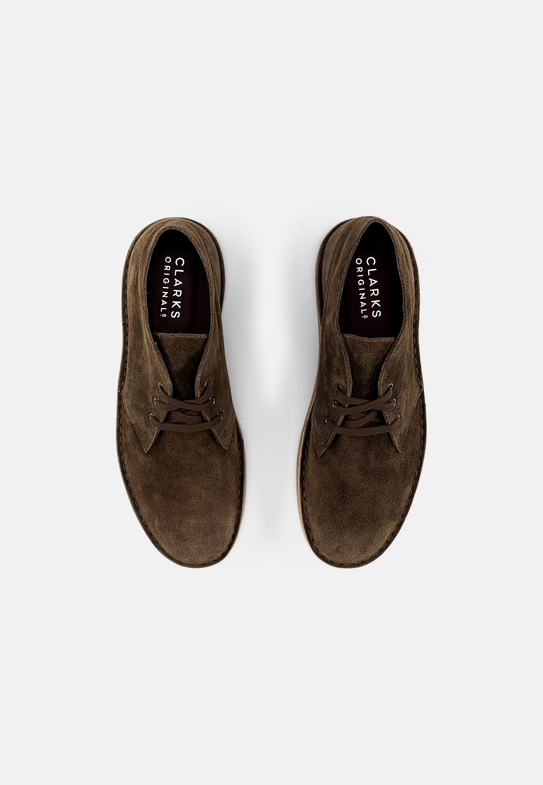 Homme DESERT COAL - Chaussures à lacets - olive