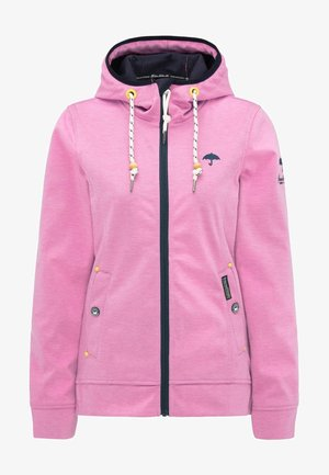 ANORAK - Waterproof jacket - pink melange