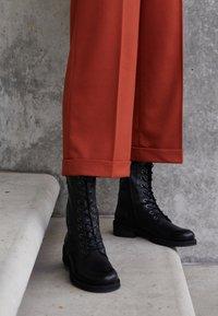 Felmini - COOPER - Lace-up boots - black - 4