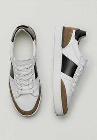 Massimo Dutti - Sneaker low - white - 1