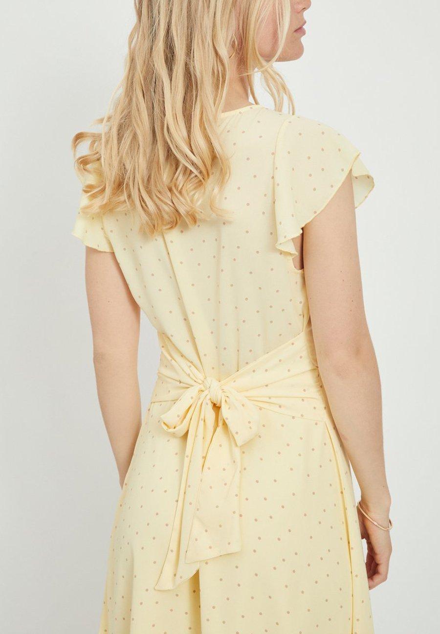 Vila Robe d'été - mellow yellow - Robes femme xq8It
