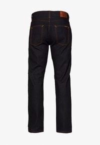 Nudie Jeans - GRITTY JACKSON - Straight leg jeans - dark blue denim - 1