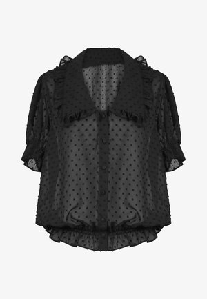 HAMIA - Button-down blouse - black