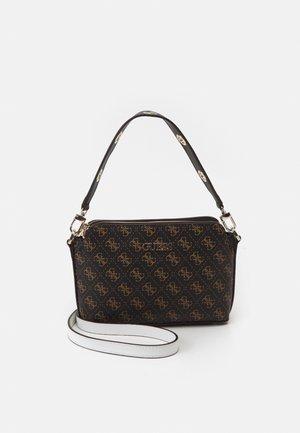 WASHINGTON ZIP CROSSBODY - Handbag - brown/multi