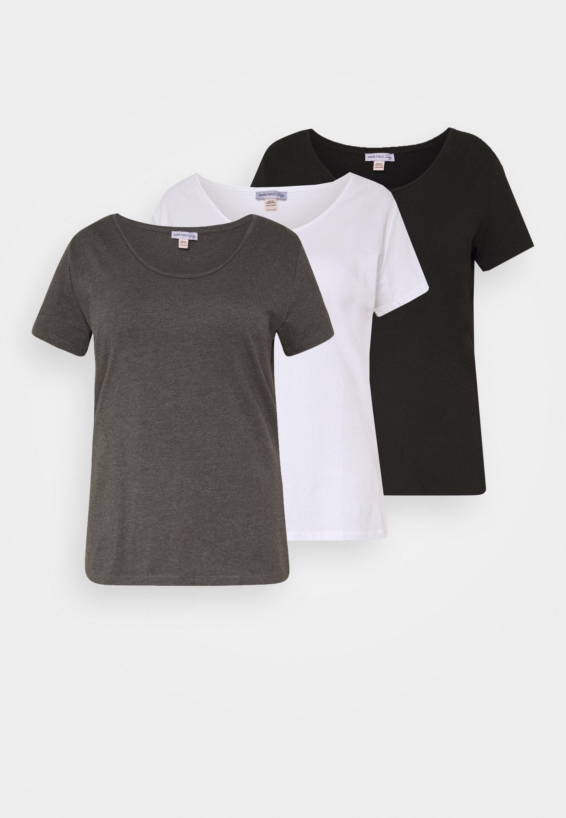 Women 3er PACK  - Basic T-shirt