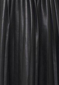 Monki - YANNI PLEATED SKIRT - A-line skjørt - black - 2