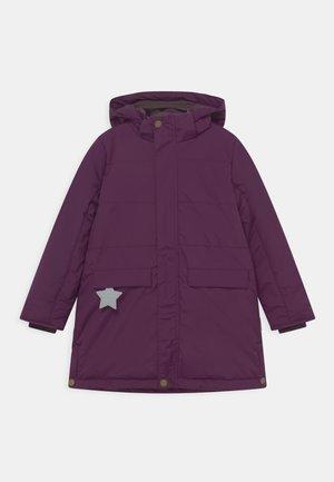 VINNA - Winter coat - deep purple
