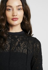 Free People - COFFEE IN THE MORNING - Long sleeved top - black - 3