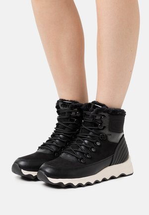 PALERMO LACE  - Lace-up ankle boots - black