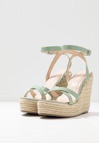 RAID - ELISHA - Sandály na vysokém podpatku - mint - 2