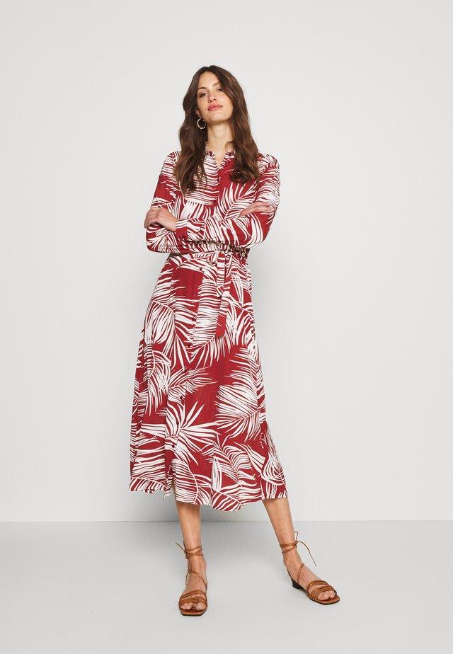 ONLAUGUSTINA SHIRT DRESS - Sukienka koszulowa - multi coloured