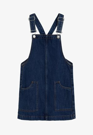 PAULA - Denim dress - donkerblauw