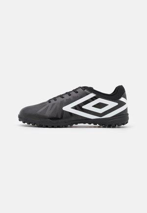 VELOCITA VI CLUB TF - Astro turf trainers - black/white/cyan blue