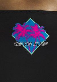 Calvin Klein Swimwear - WAVE CLASSIC - Bikini bottoms - black - 4