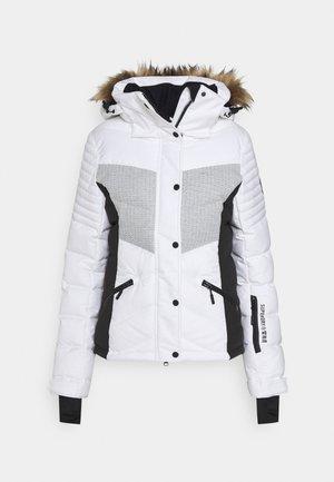 SNOW LUXE PUFFER - Chaqueta de esquí - white