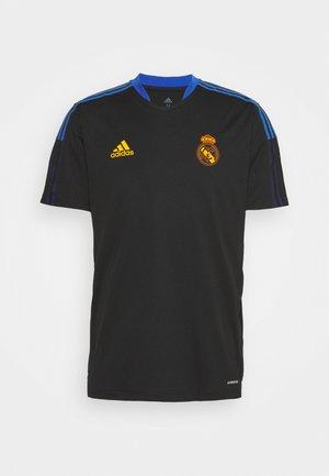 REAL MADRIS TR JSY - Club wear - black