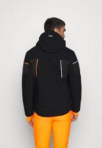 CMP - MAN JACKET ZIP HOOD - Ski jacket - nero - 2