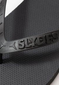 Slydes - ANGRA - Tongs - black - 5