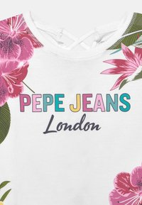 Pepe Jeans - FIONA - Triko spotiskem - optic white - 2