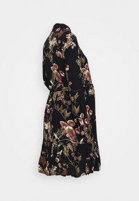 Pieces Maternity - PCMBRENNA DRESS - Vestido camisero - black - 1