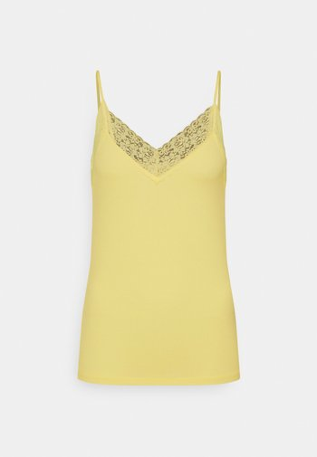 SFMIO SINGLET - Top - pastel yellow