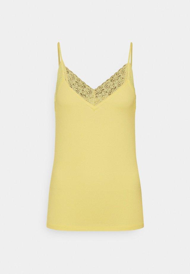 SFMIO SINGLET - Toppe - pastel yellow