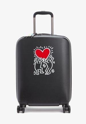 CURIOSITY S - Wheeled suitcase - keith h public art black