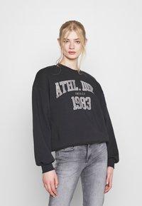 Gina Tricot - RILEY - Sweatshirt - offblack - 0