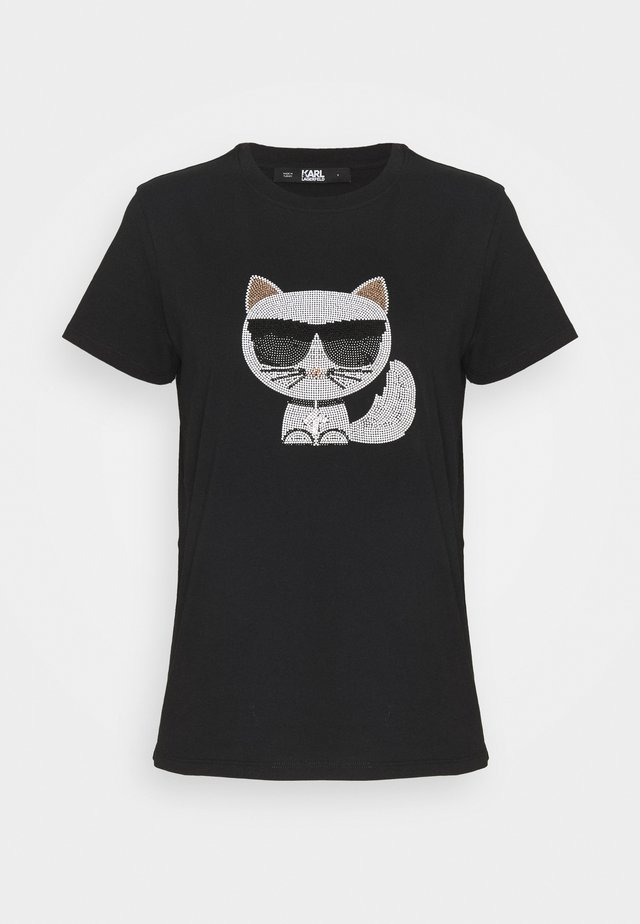 IKONIK CHOUPETTE  - T-shirts med print - black