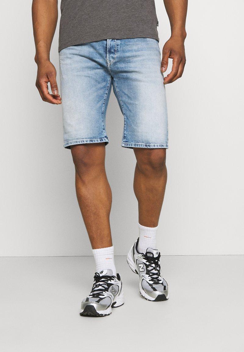 Replay - Denim shorts - light blue