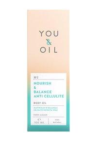 YOU & OIL - BODY OIL NOURISH & BALANCE ANTI CELLULITE 100ML - Body oil - - - 2