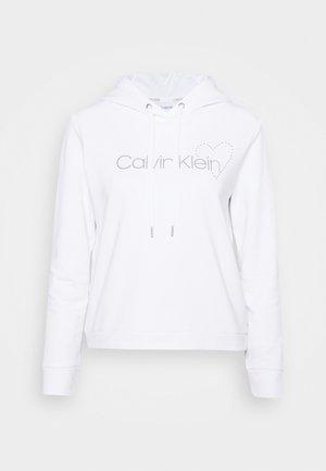 VALENTINES STUD HOODIE - Sweatshirt - bright white