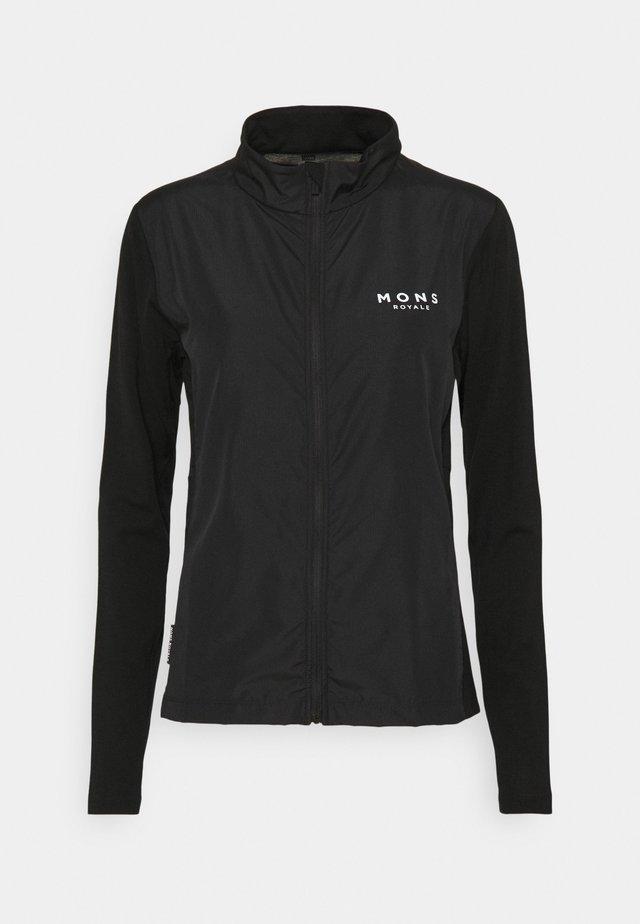REDWOOD WIND - Sportovní bunda - black