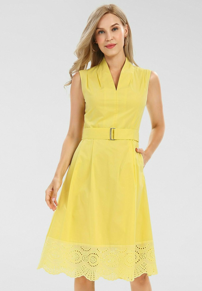 Apart - Cocktail dress / Party dress - yellow