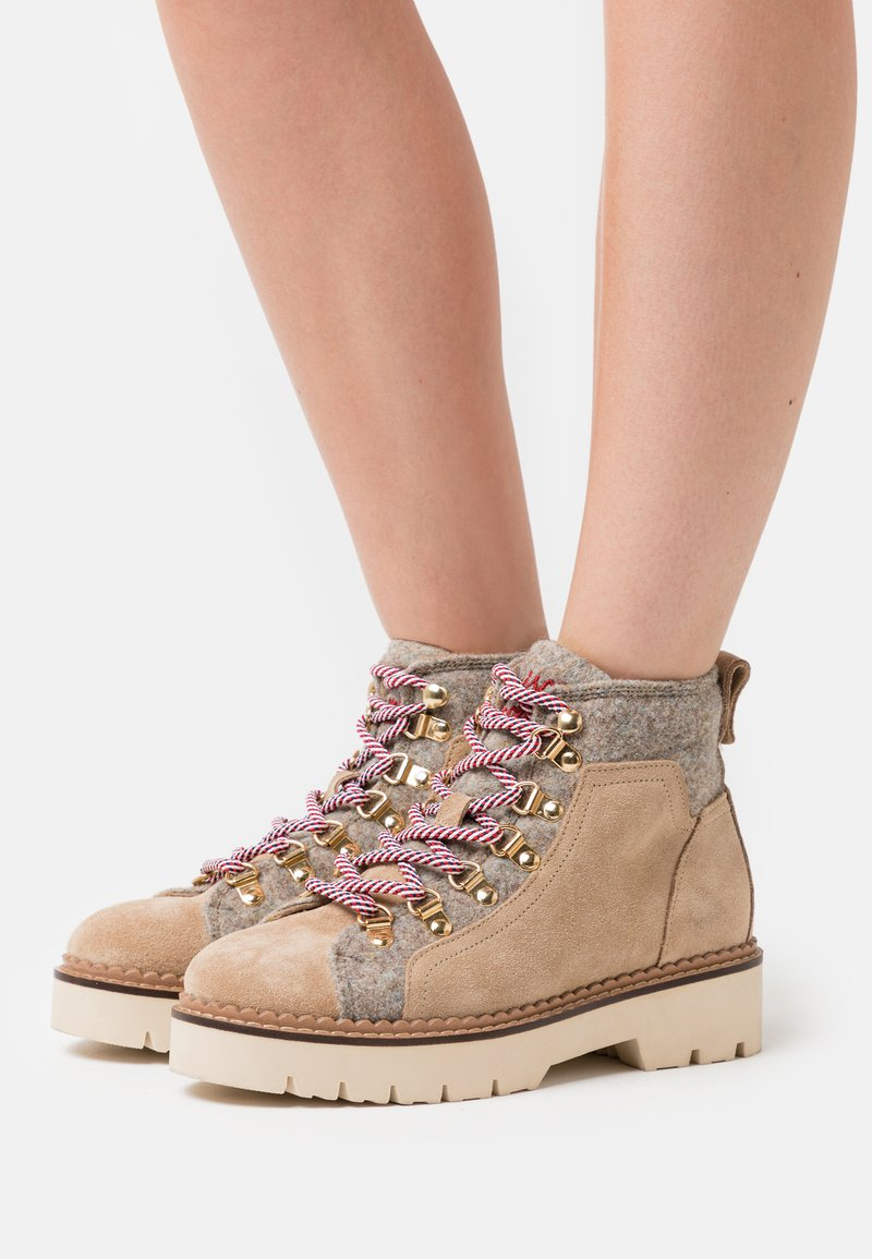 Scotch & Soda - OLIVINE - Ankle boots - beige