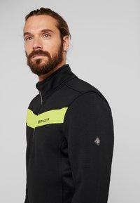 Spyder - ENCORE HALF ZIP - Bluza z polaru - black mojito - 3