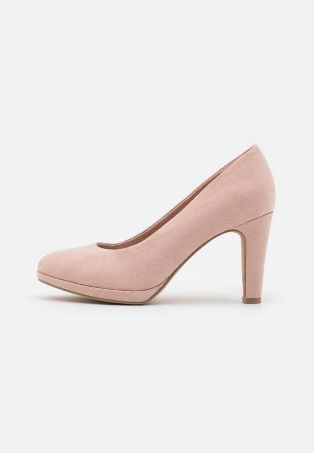 COURT SHOE - Højhælede pumps - rose
