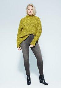 Violeta by Mango - IRENE - Slim fit jeans - denim grau - 1
