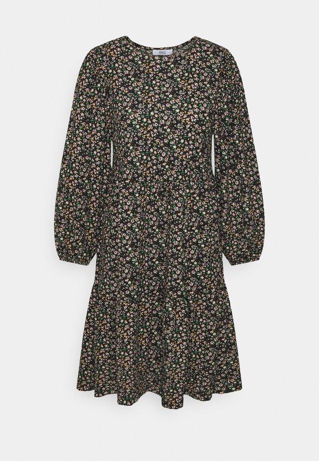 ONLZILLE SHORT DRESS TALL - Day dress - black