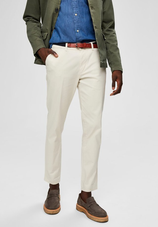 Pantalones chinos - turtledove