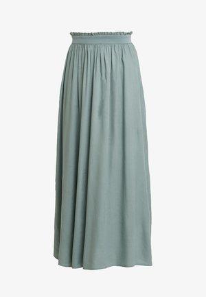 ONLVENEDIG  - Maxi skirt - chinois green