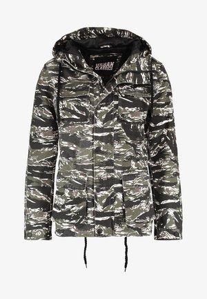 ARMY TIGER CAMO - Vindjacka - olive/black/white