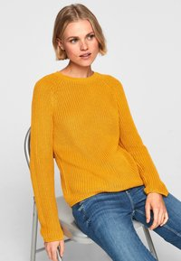 QS by s.Oliver - Jumper - yellow - 4