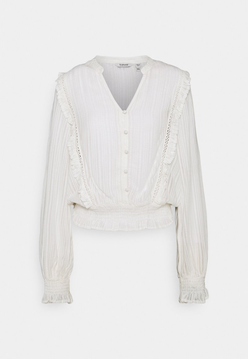 b.young - BYBCFELICIA BLOUSE  - Blouse - off white