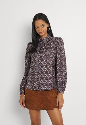 ONLCANDY LIFE SHIRT - Button-down blouse - beaver fur