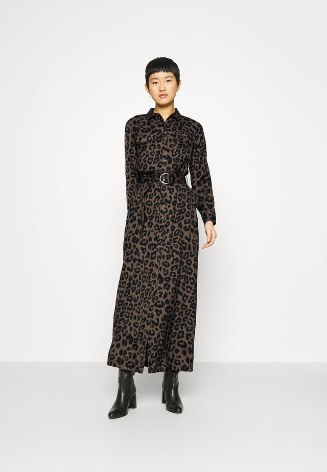 MAXI SHIRTDRESS  - Robe longue - leopard